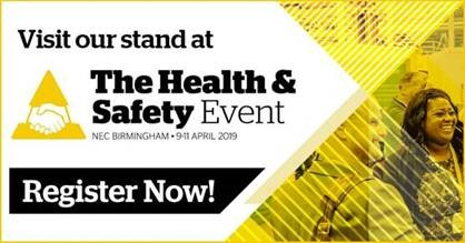 Register for the Health and Safety show here