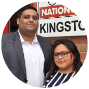Priyank and Pinky - Driver Hire Kingston