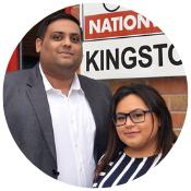 Priyank and Pinky - Driver Hire Kingston