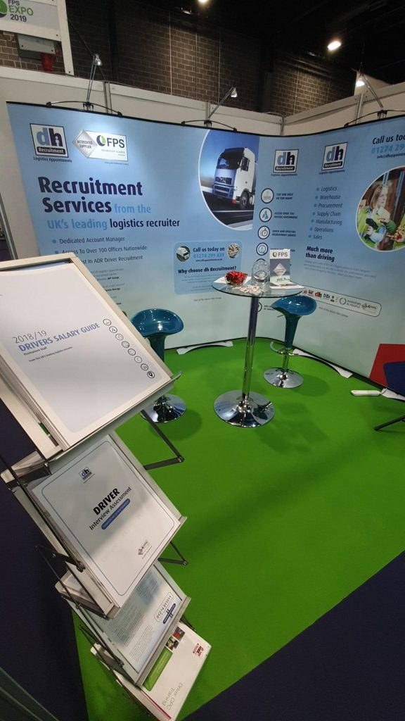Exhibition Stand Hire Newcastle : Dh logistics appointments exhibit at fps expo driver hire